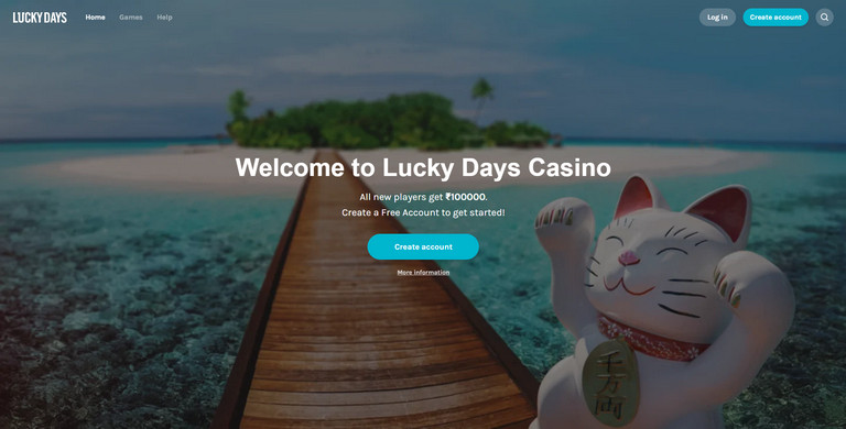 lucky days sign up