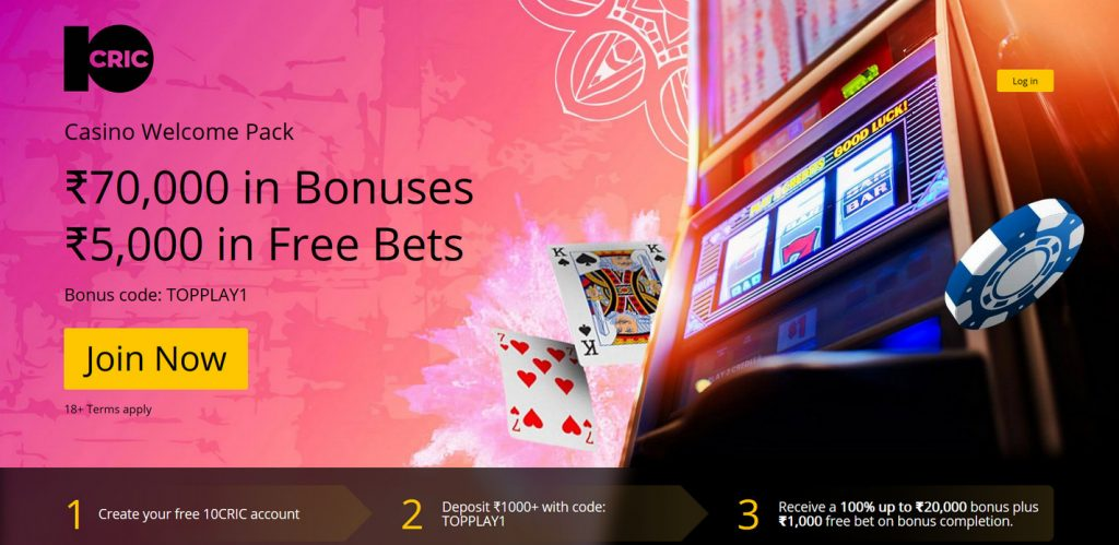 10cric online casino sign up